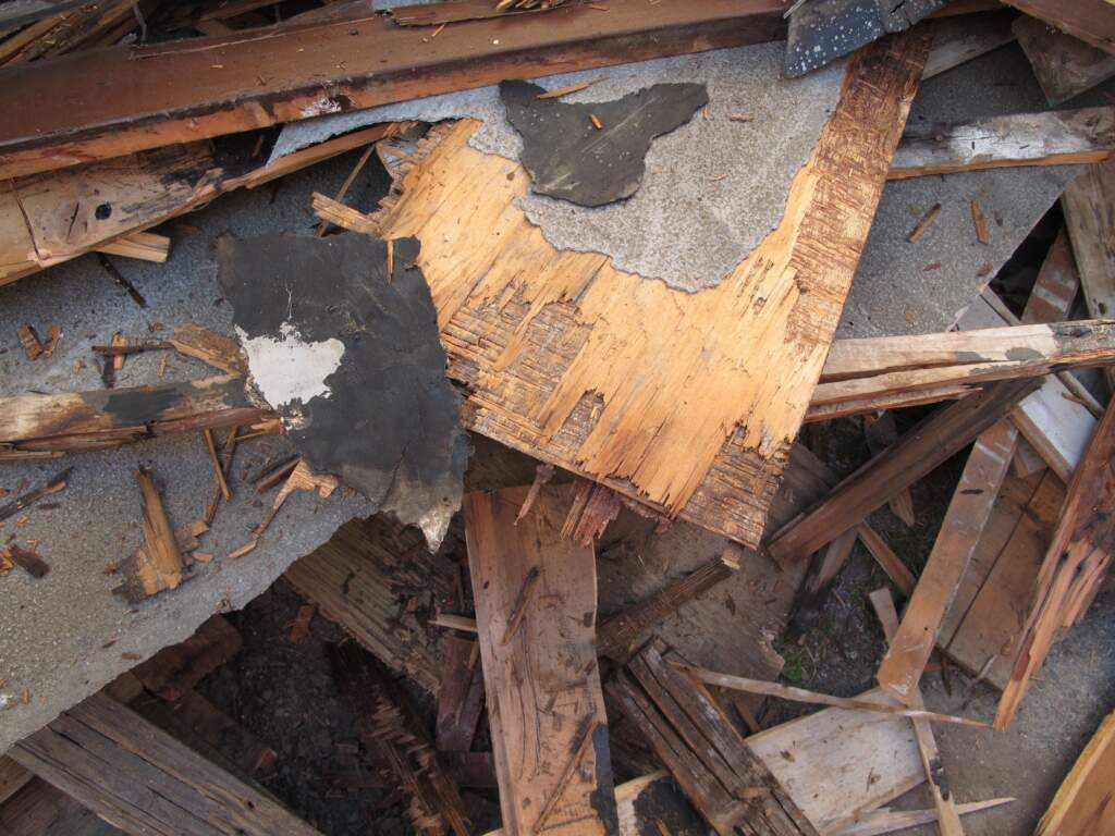 Home Renovation Debris